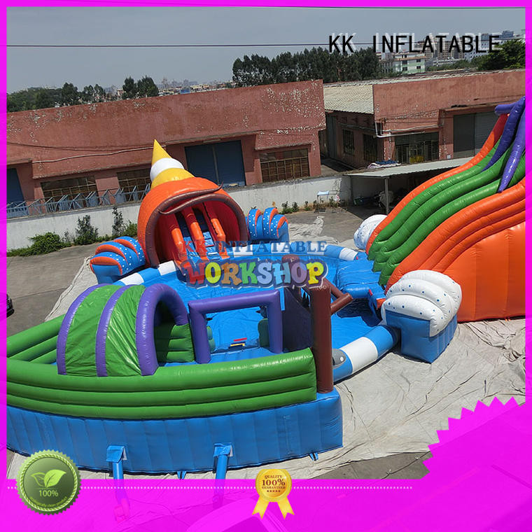 inflatable water parks dinosaur for paradise KK INFLATABLE