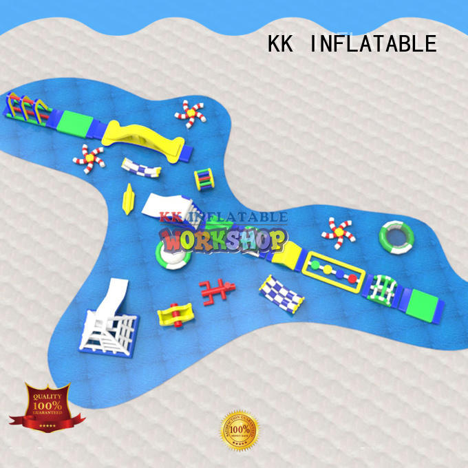pvc inflatable water parks animal modelling for seaside