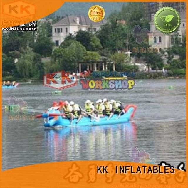 KK INFLATABLE pvc inflatable boats supplier for swimming pool