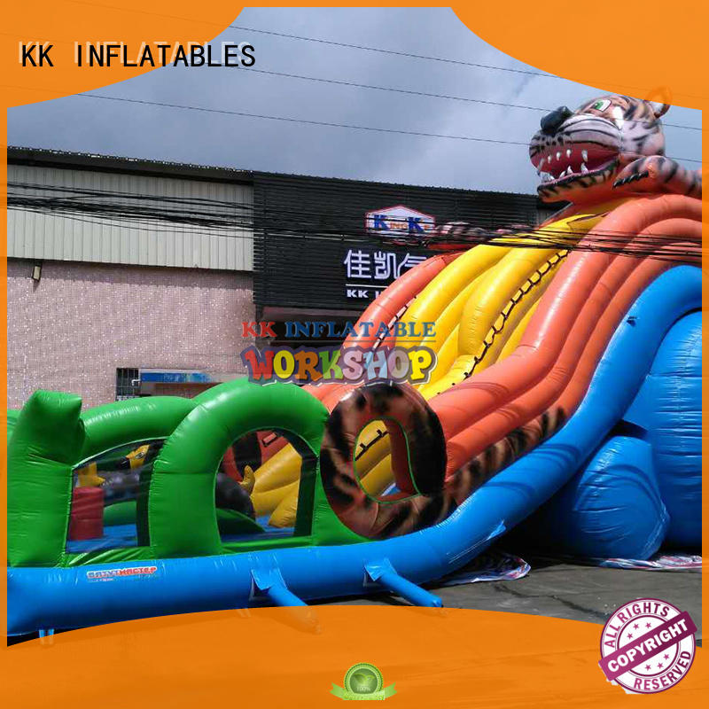 KK INFLATABLE customized inflatable bouncers trampoline for outdoor activity