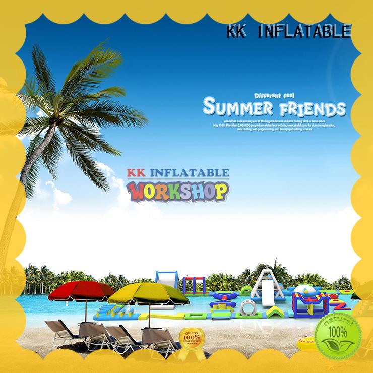 KK INFLATABLE durable inflatable water parks dinosaur for amusement park