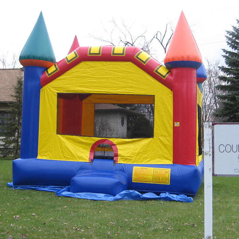 Children's Inflatable Castle Jumping Bed