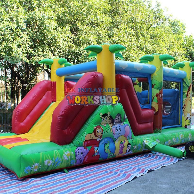 commercial castle blow jumping castle KK INFLATABLE Brand