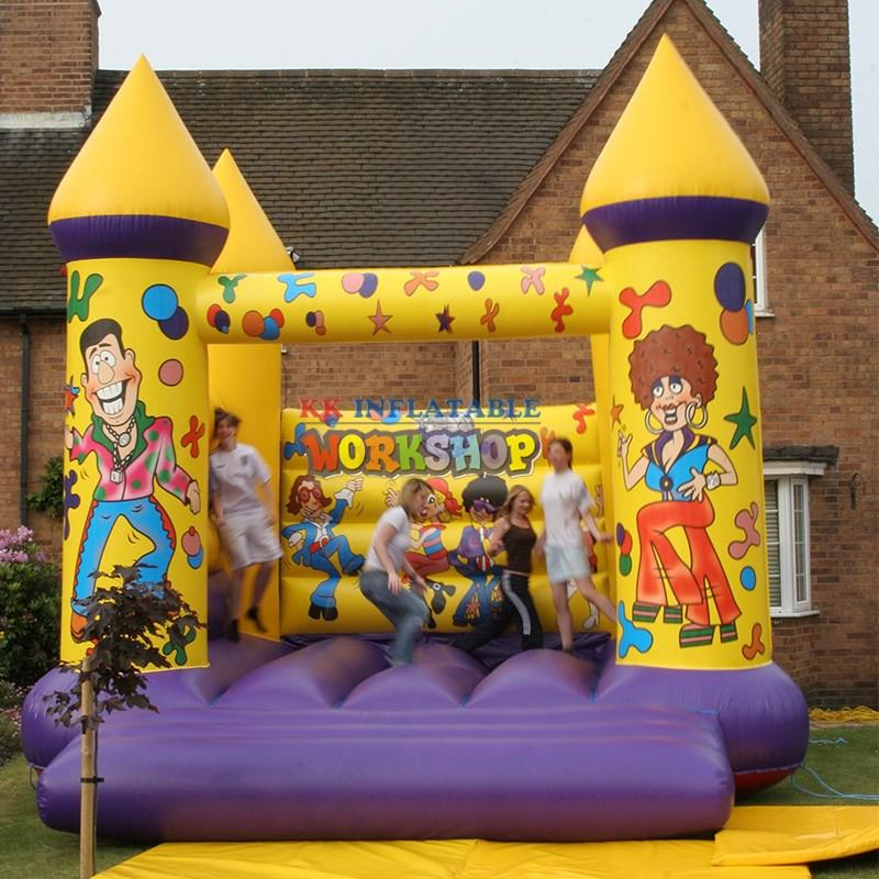 KK INFLATABLE Brand inflatable commercial jumping castle blow factory