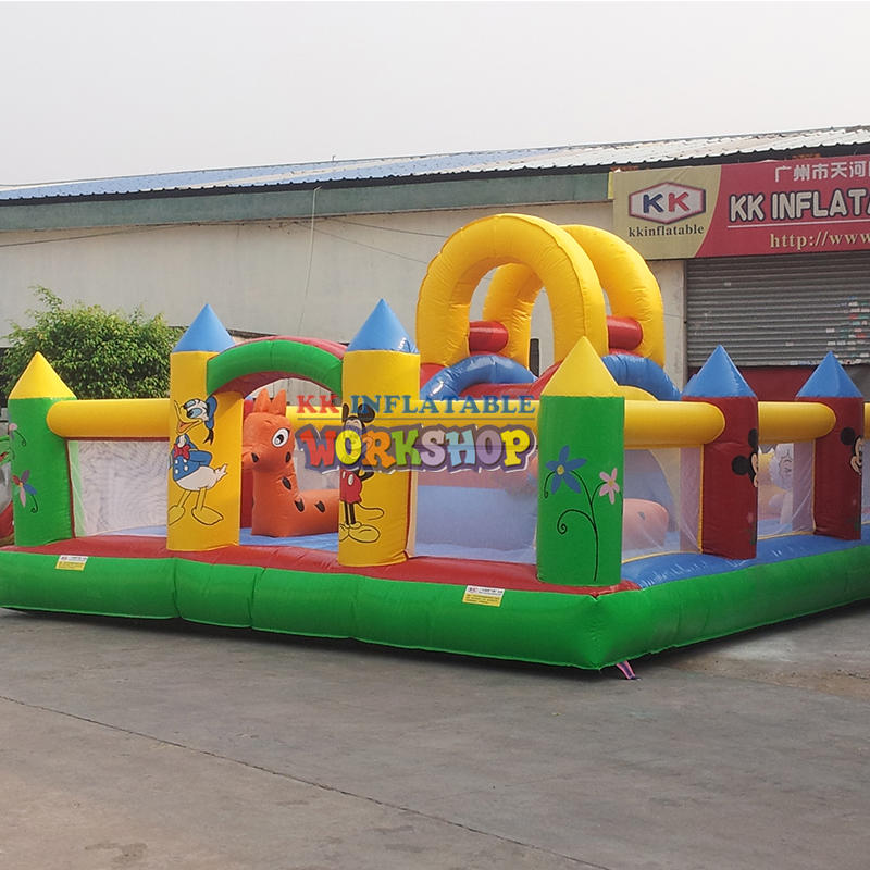 Children's Customs Game Inflatable Bounce House For Sale