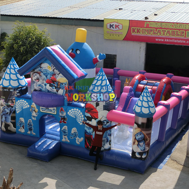 Inflatable Obstacle Bouncer Combination