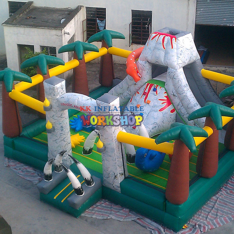 Commercial Advertising Atmosphere Inflatable Obstacle Course