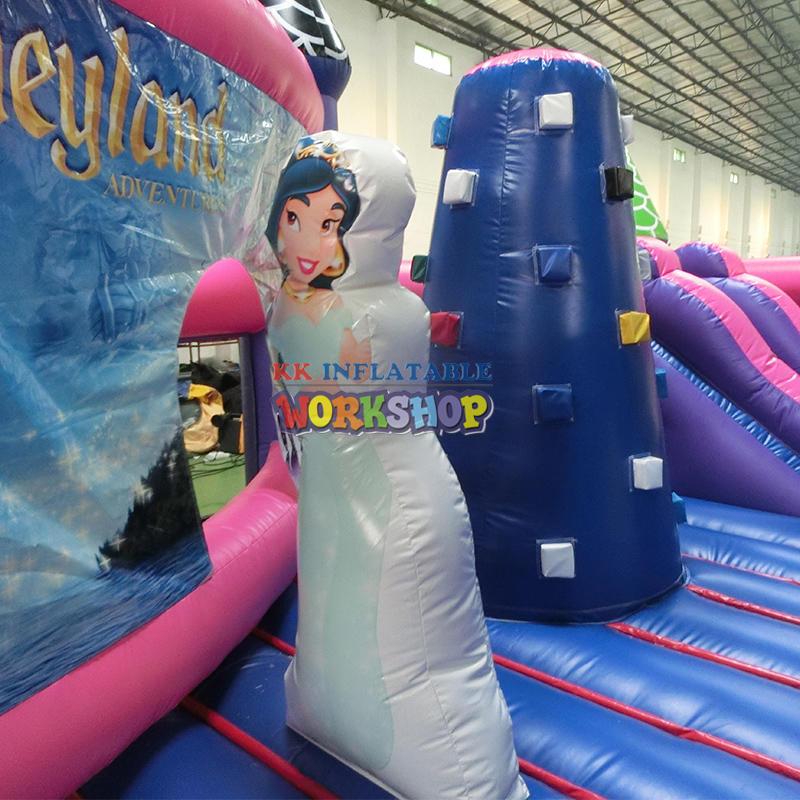 Children Climbing Adventure Inflatable Trampoline