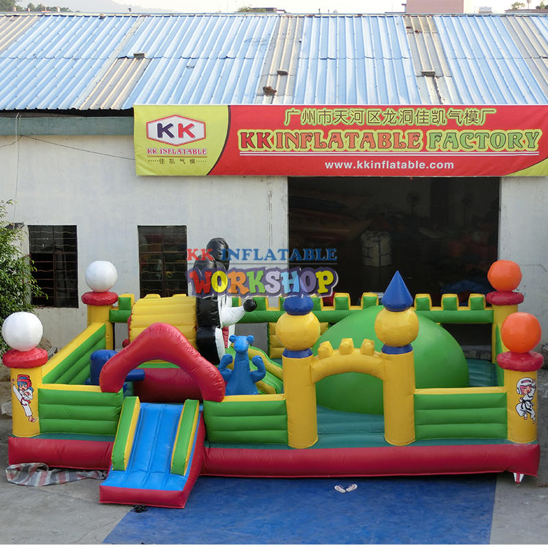 inflatable amusement park games