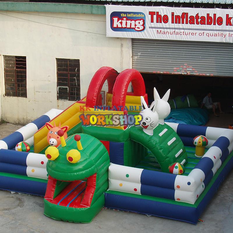 Customized Production Inflatable Castle Decoration