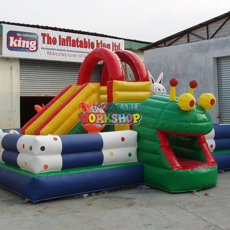 KK INFLATABLE climbing water obstacle course good quality for sport games
