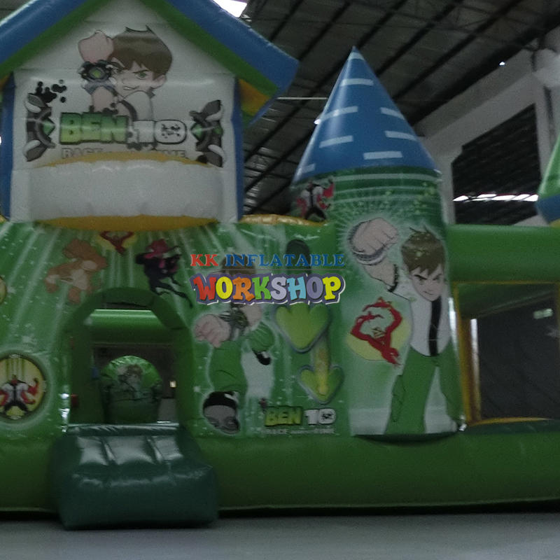 inflatable bouncer for amusement park
