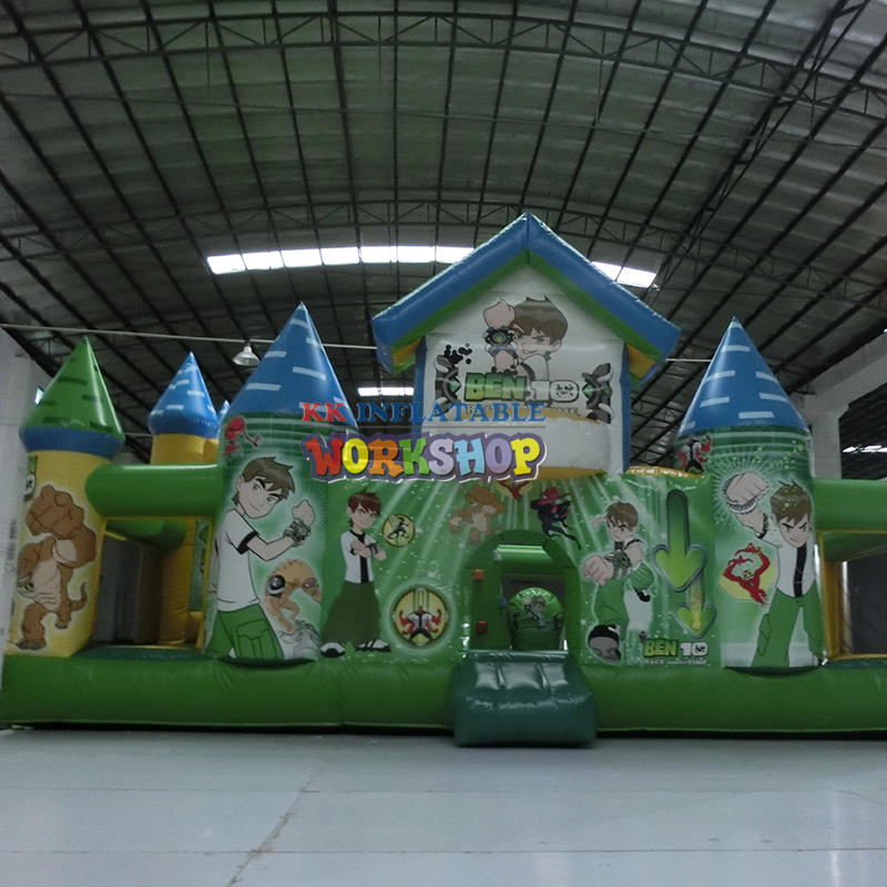 inflatable bouncer for amusement park