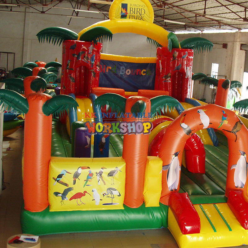 amusement park inflatable bouncer
