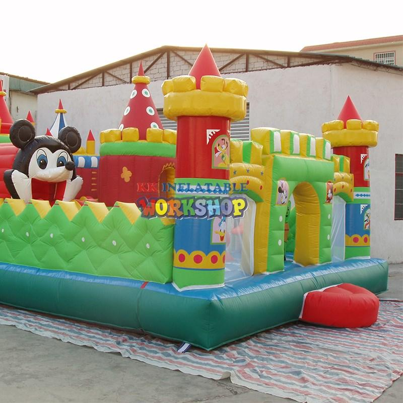 shoogle inflatable inflatable obstacle course outdoor KK INFLATABLE Brand company