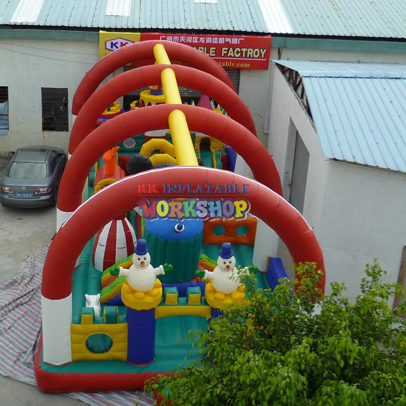 funny inflatable amusement park