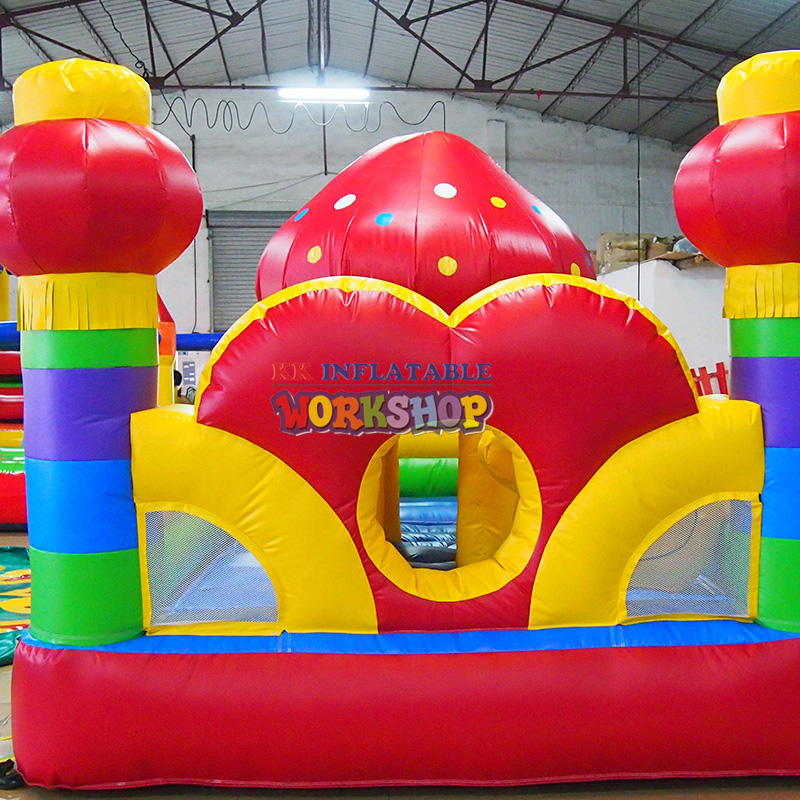 inflatable amusement park for kids