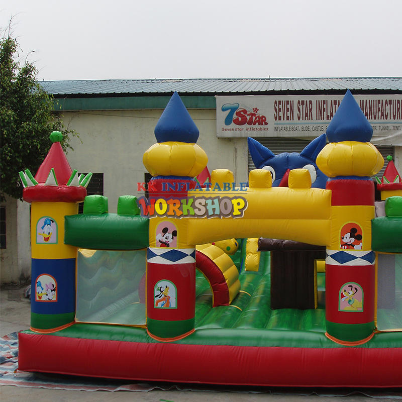 amusement park inflatable toys