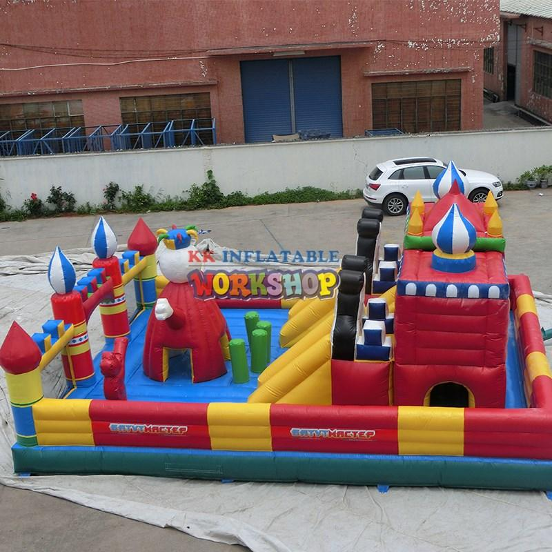 technology bounce house water slide slide KK INFLATABLE company