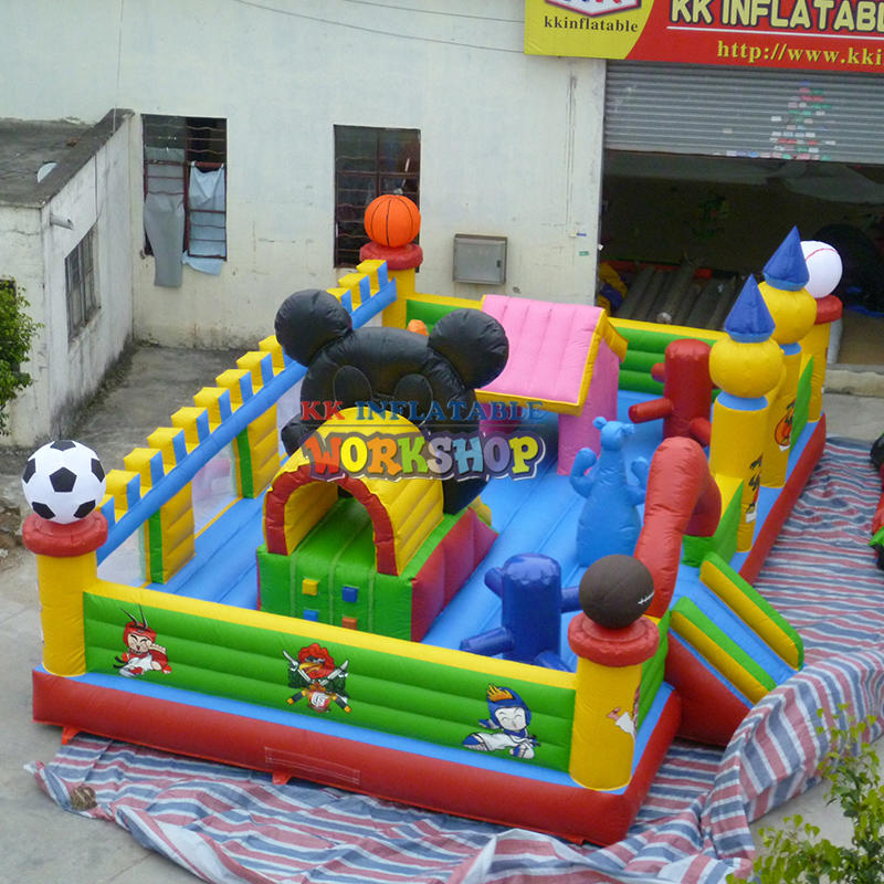 bouncing castles combo inflatable