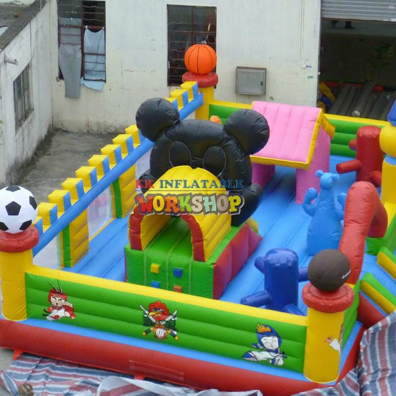 Hot castle jumping castle commercial inflatable KK INFLATABLE Brand