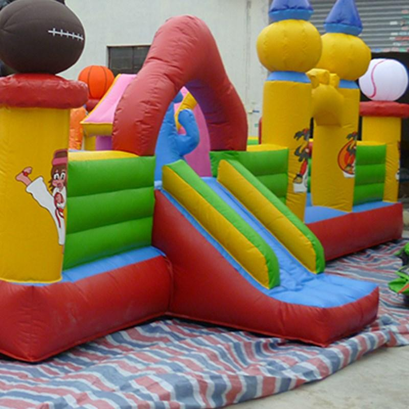 KK INFLATABLE jumping inflatable jumping castle supplier for paradise