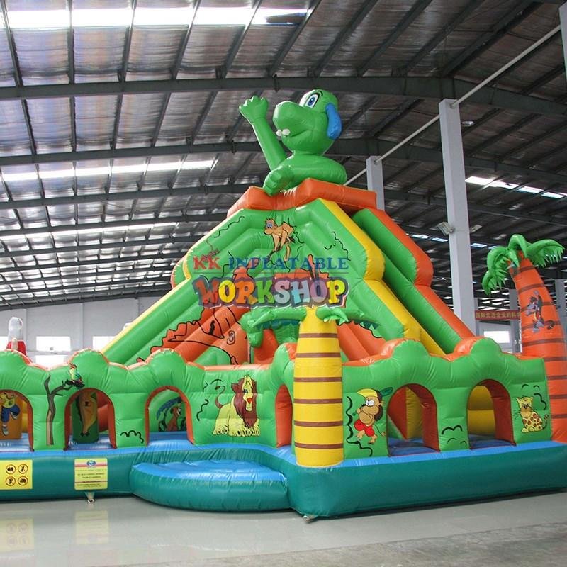 KK INFLATABLE attractive kids inflatable bouncer factory direct for paradise