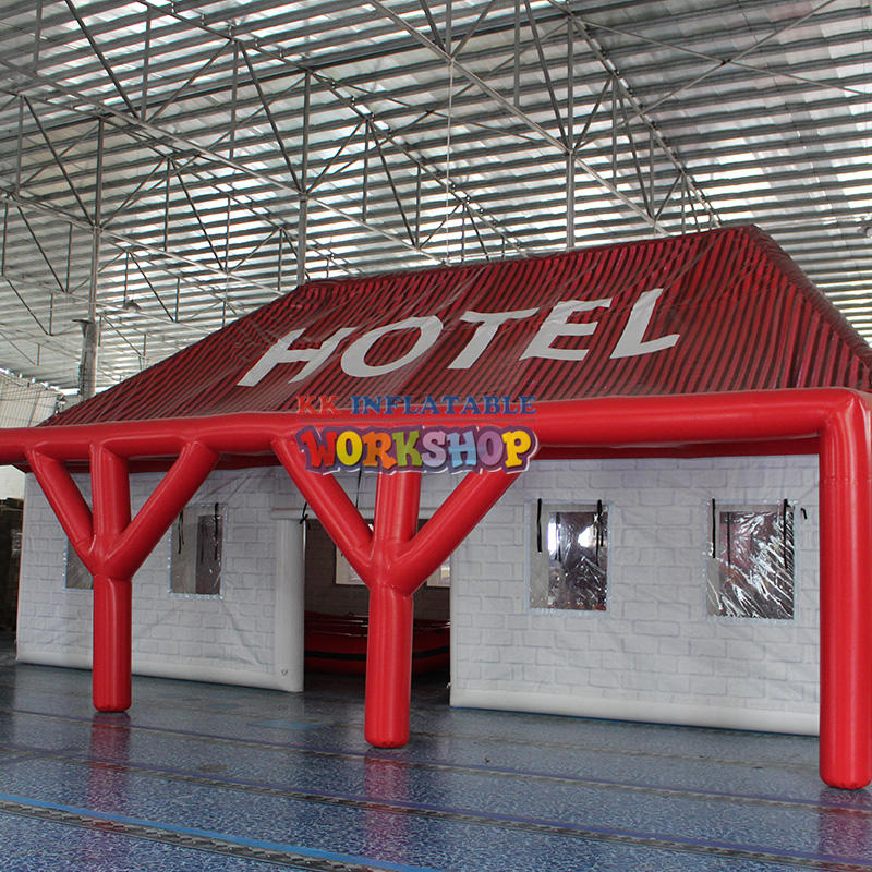 Outdoor inflatable Hotel Pub Tent, Custom made sealed inflatable pub bar