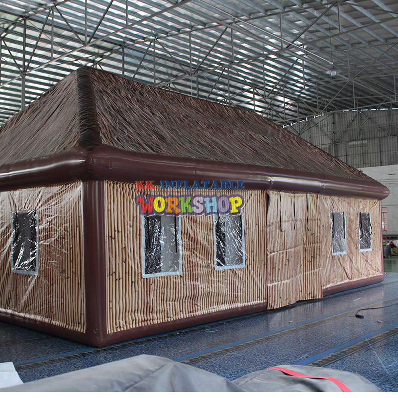 inflatable cube bar tent