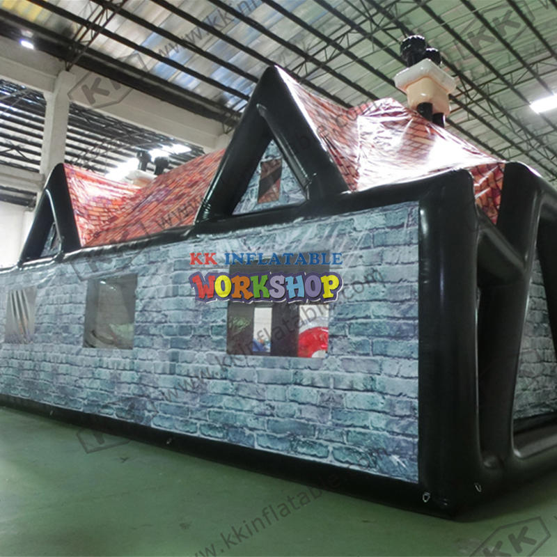 Customized outdoor inflatable bar tent