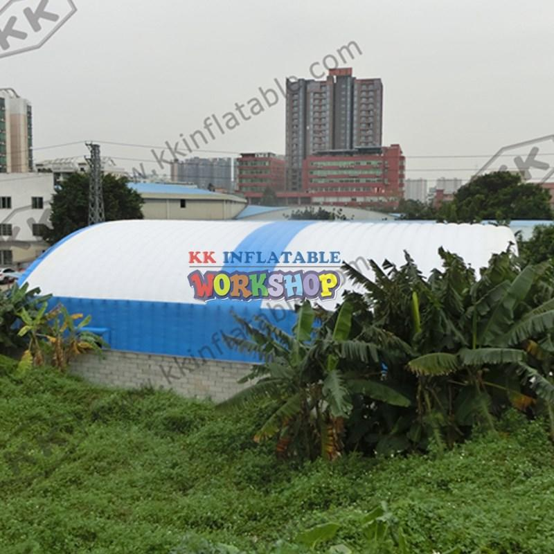 crocodile style large inflatable tent good quality for exhibition KK INFLATABLE