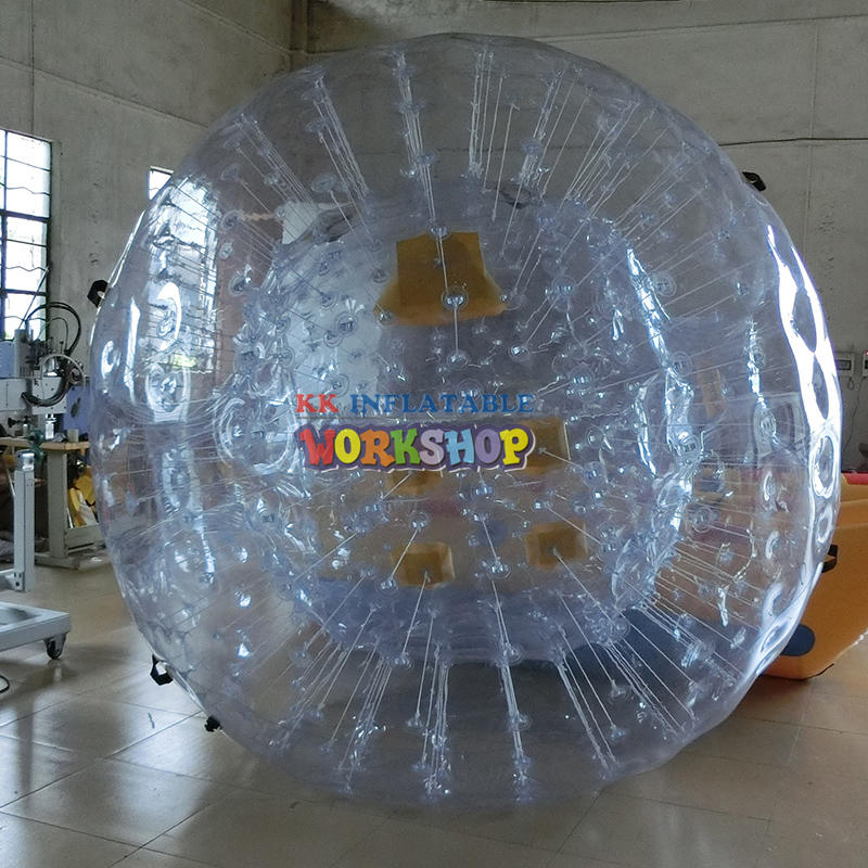 Transparent touch ball clothes
