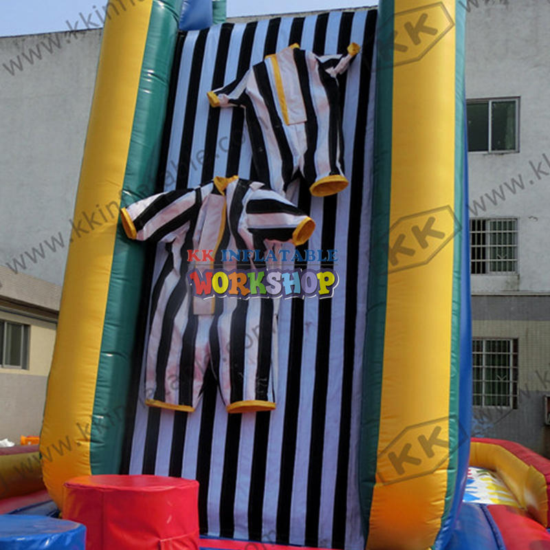 Inflatable magic wall-mounted toys