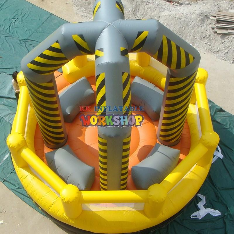 KK INFLATABLE Brand inflatable climbing kid inflatable climbing wall