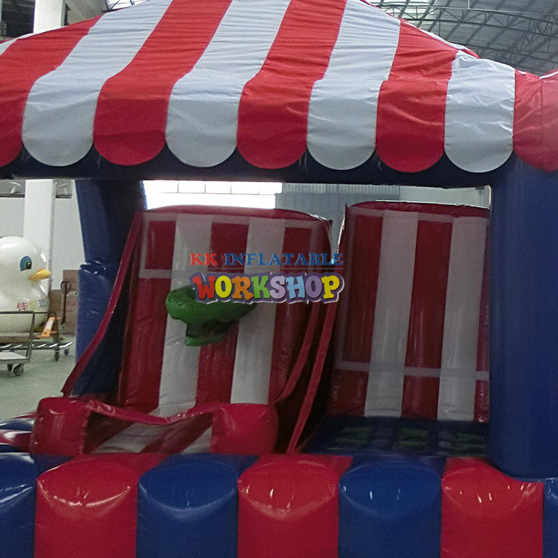 Inflatable Shooting Game in Children's Paradise