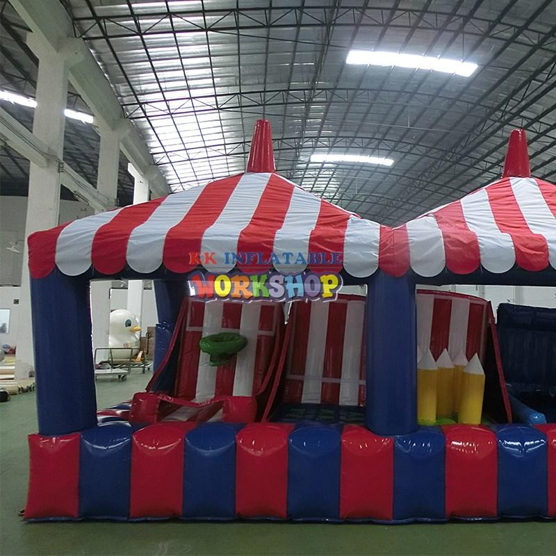 KK INFLATABLE long rock climbing inflatable wholesale for paradise
