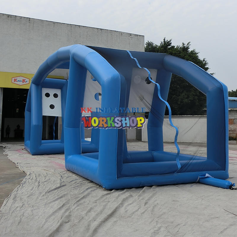Customization of Inflatable Channel Track