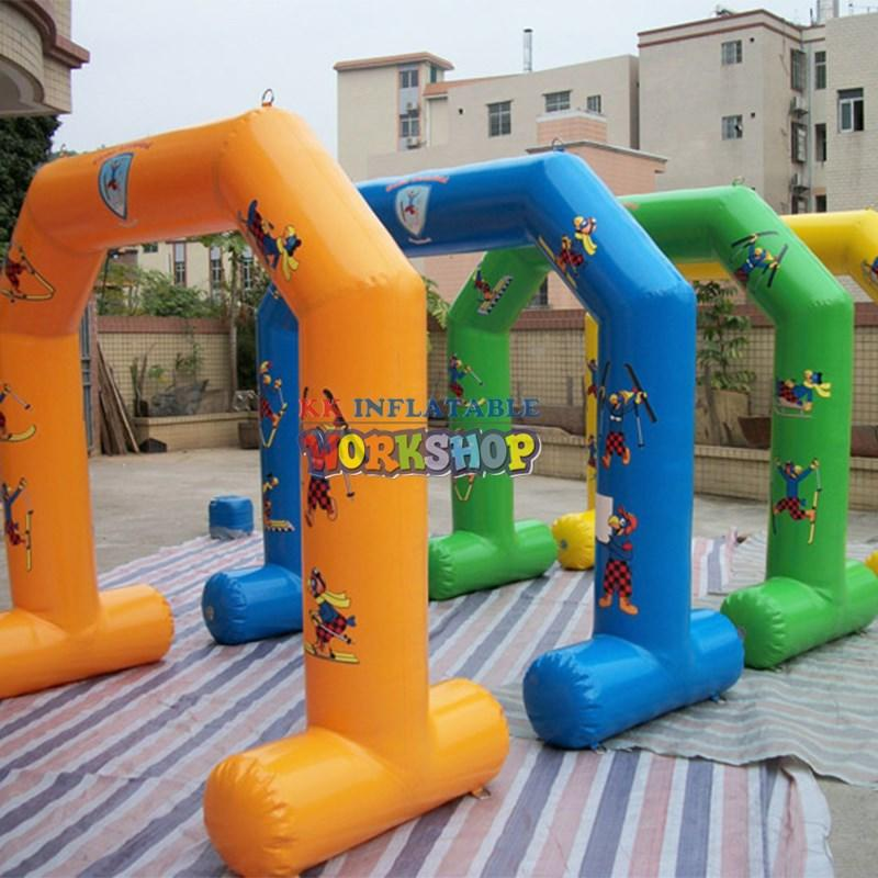 KK INFLATABLE multistandard inflatable climbing wall supplier for training game