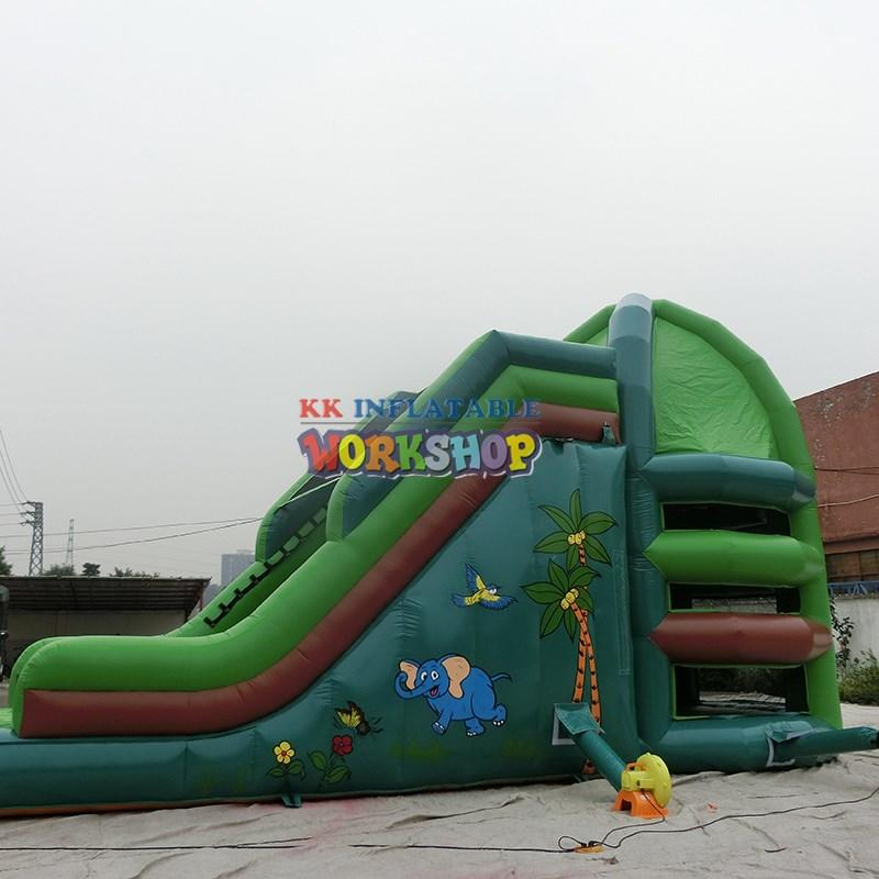 kid wall outdoor KK INFLATABLE Brand inflatable climbing wall factory