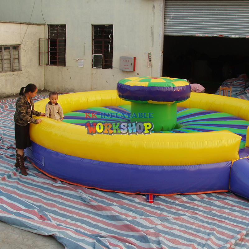 inflatable park outdoor playground
