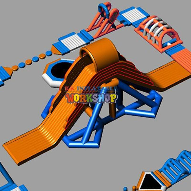 KK INFLATABLE Brand water game inflatable water park for adults