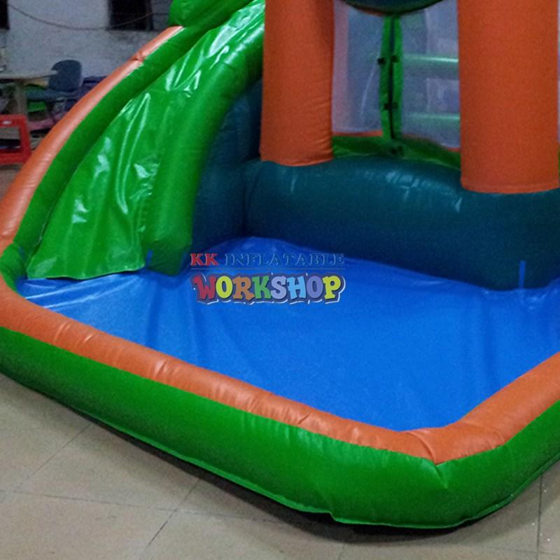 hot selling inflatable slip and slide colorful for paradise