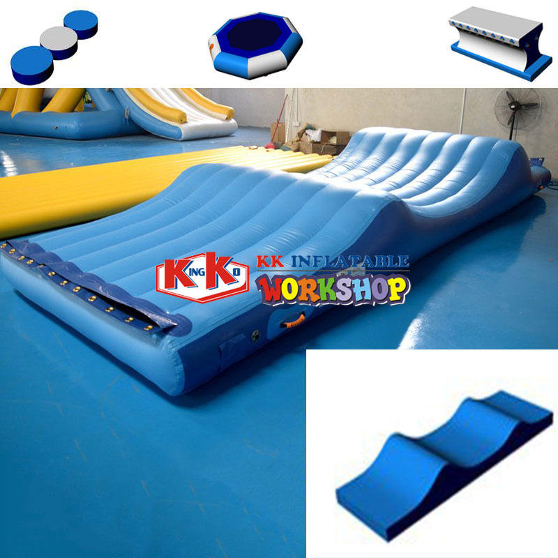 large inflatable water playground manufacturer for beach KK INFLATABLE