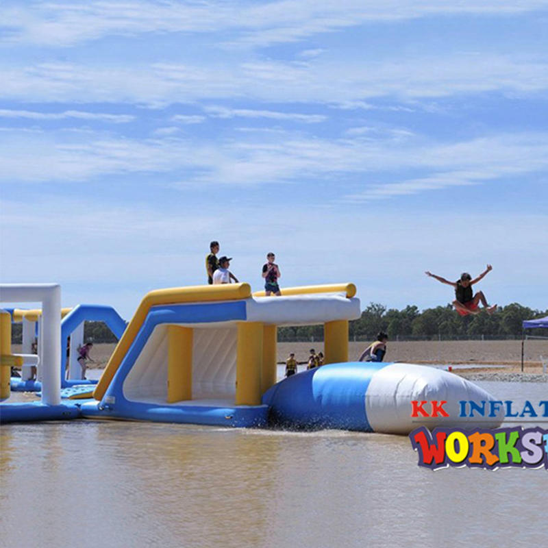 Open Water Pass Movement giant inflatable amusement water parks