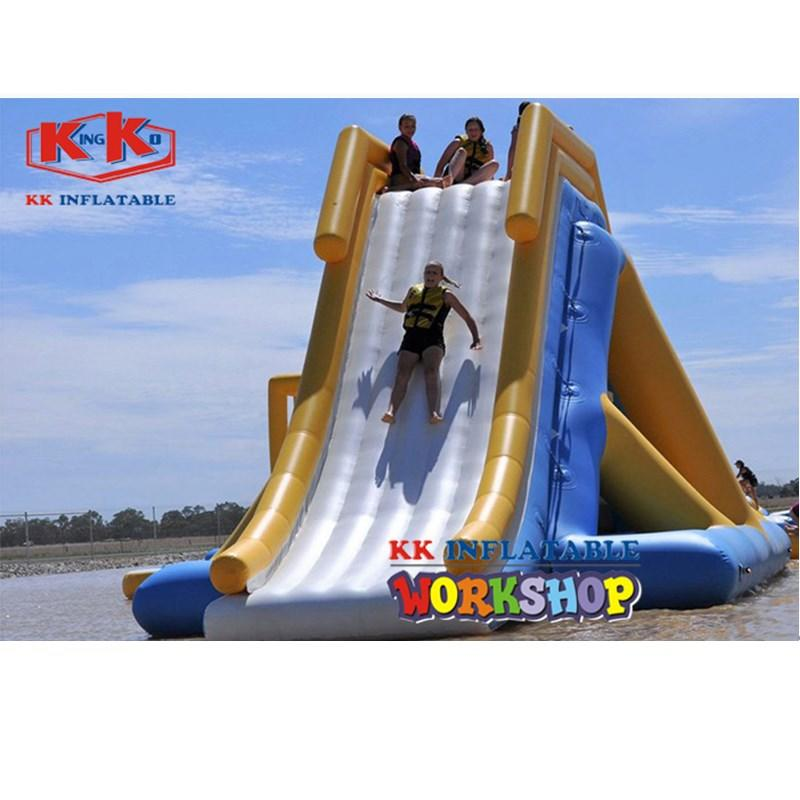 KK INFLATABLE durable inflatable water parks blue for children