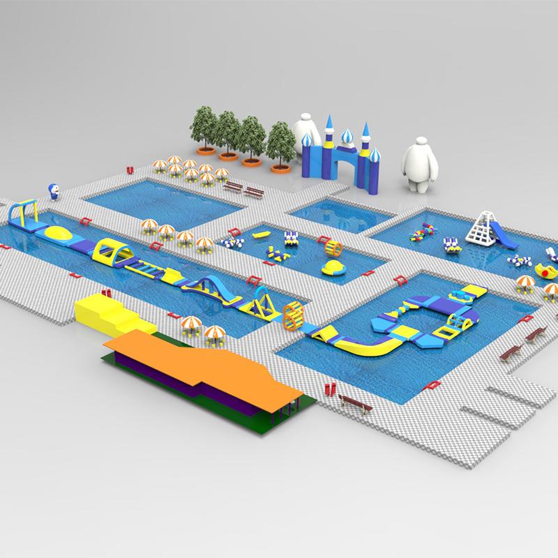 inflatable aqua park