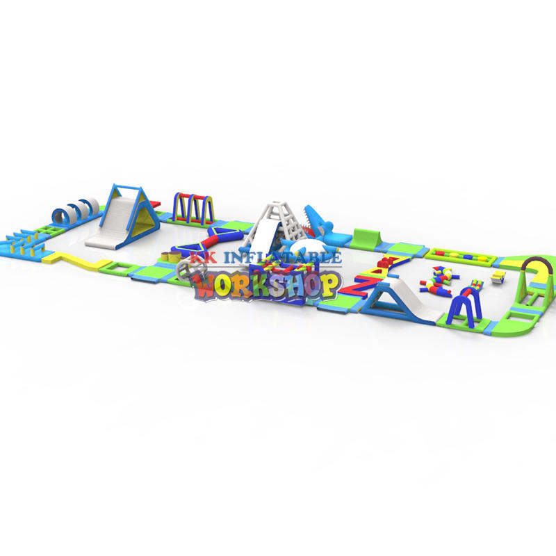 KK INFLATABLE large inflatable water parks good quality for children