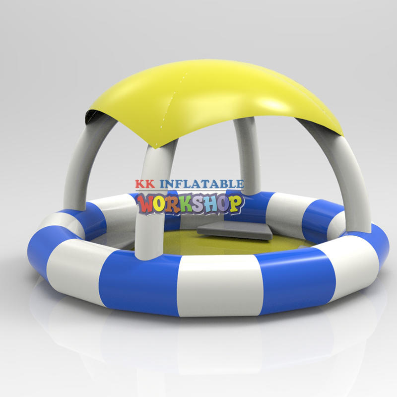 Inflatable floating leisure boat