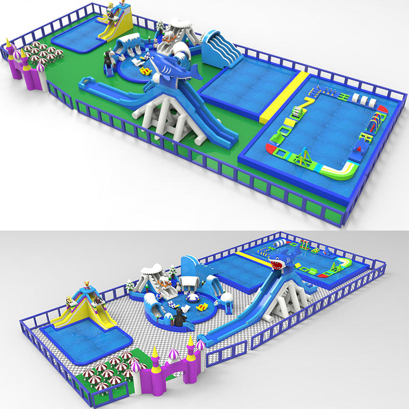 Land Pool Shark Theme Park