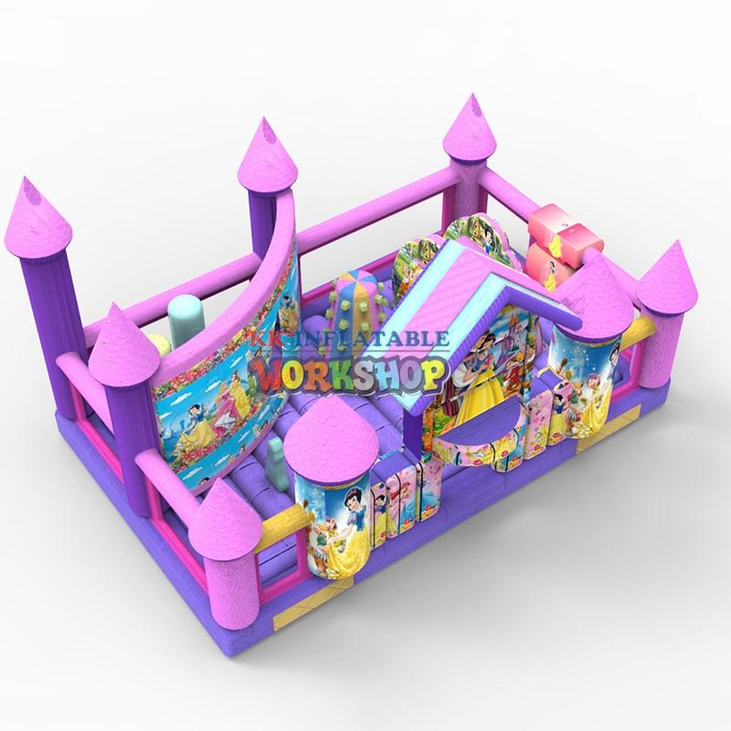 KK INFLATABLE jumping jumping castle colorful for paradise